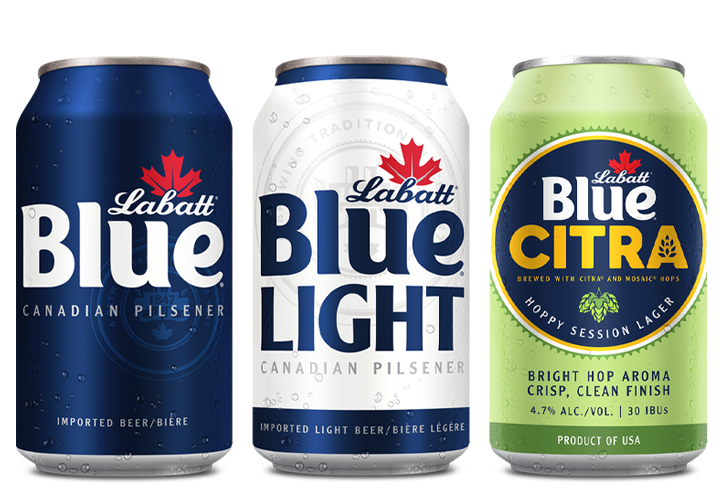 Labatt Blue, Blue Light, Blue Citra