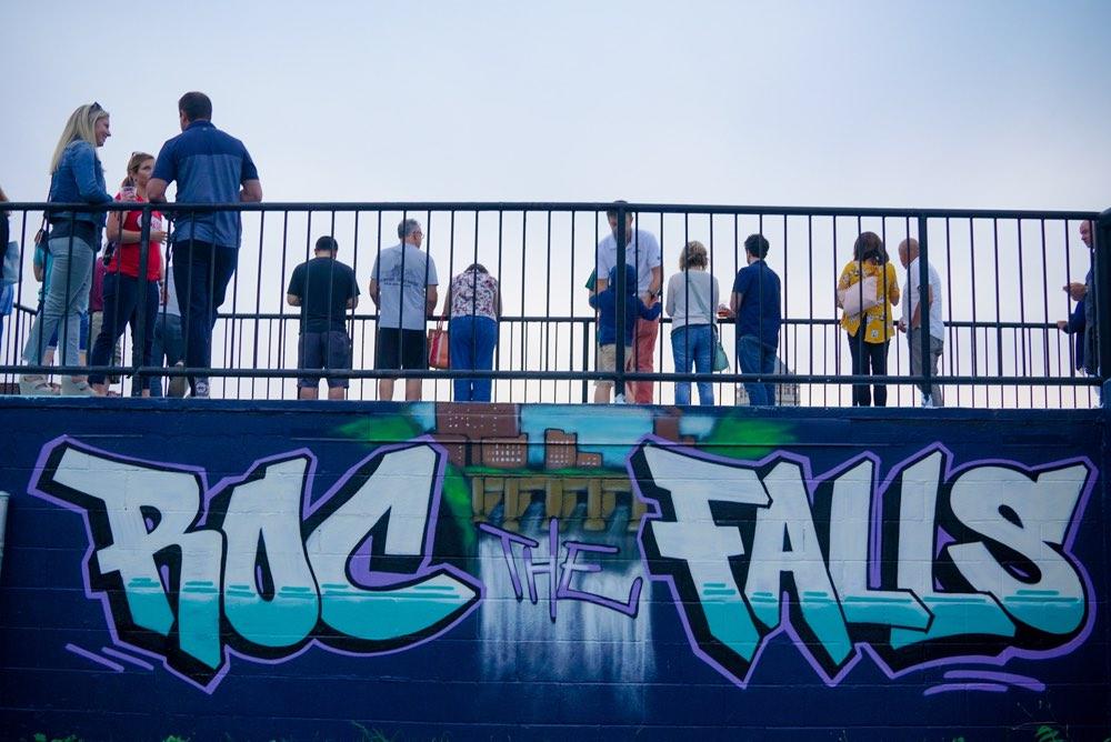 Rock the falls
