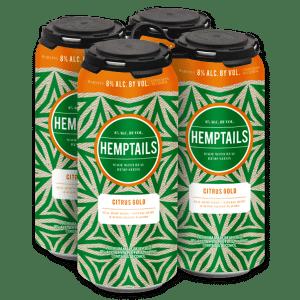 Hemptails 4-pak cans