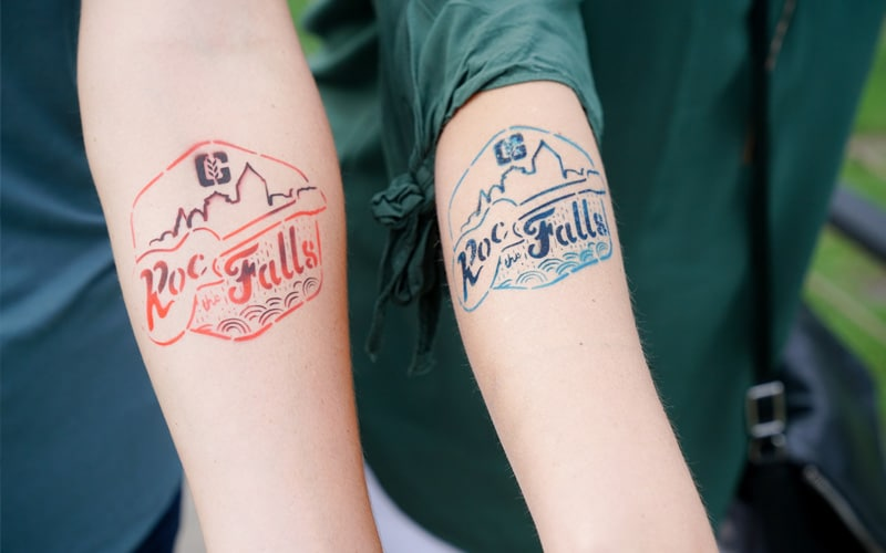 ROC the FALLS Tattoos