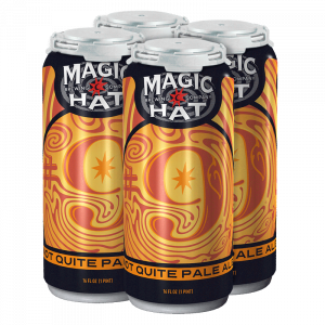 "4 pack of Magic Hat #9 ""Not Quite Pale Ale"" 16 oz cans"
